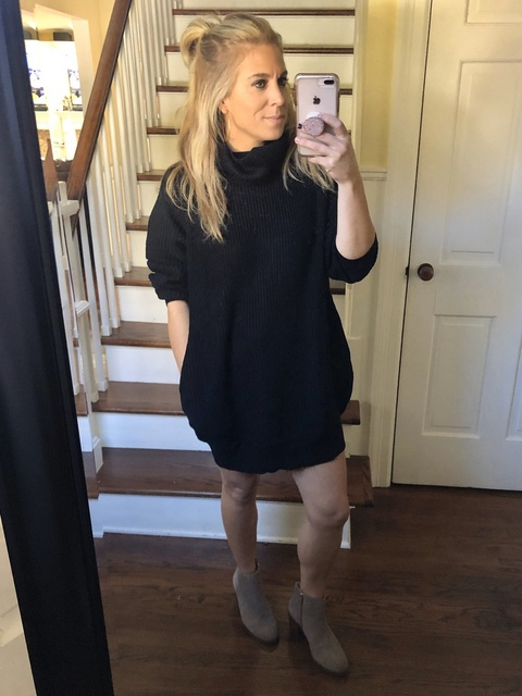 with clothes that you have already in your closet! #fallfashion #winterfashion #momstyle #momfashion #ShopStyle #MyShopStyle