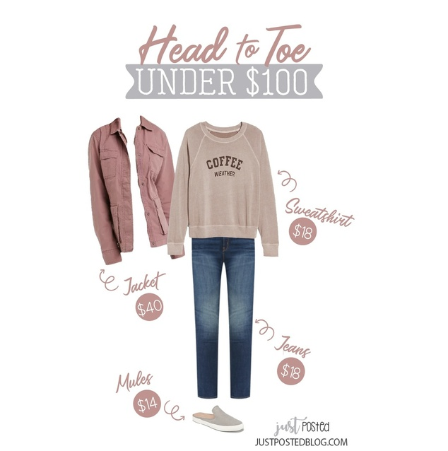 0% off when you add them into your cart! Finish the look with this pink utility jacket that is perfect for layering for fall!