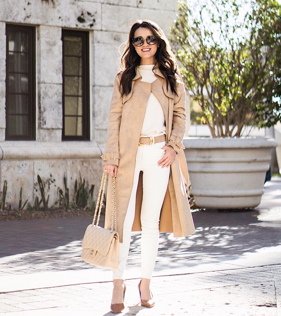 Nothing better than a classic camel coat!
