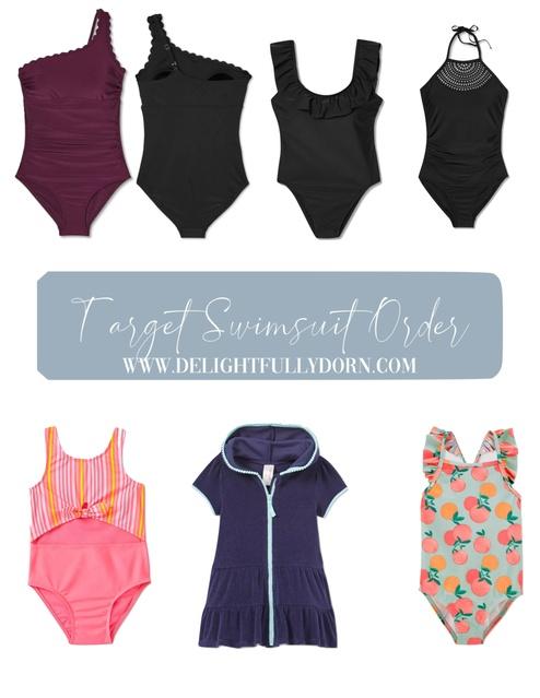 Target Swimsuit Order #delightfullydorn #targetstyle