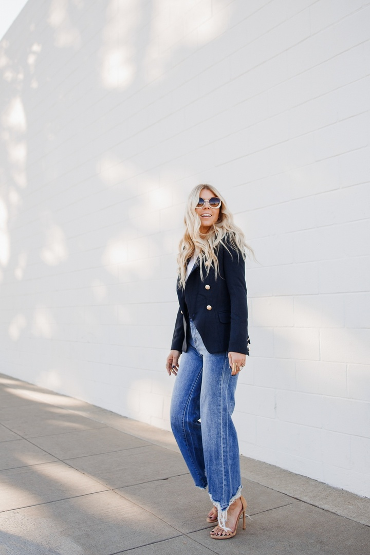 Shop this look by Lisa Allen from Salty Lashes on the blog #blazer #style #business #denim #shopbop #saltylashes #ShopStyle #shopthelook #WearToWork #NYFW #GirlsNightOut #DateNight #WeekendLook #OOTD