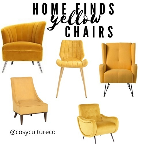 Home decor / yellow accent chair 🌼💛 #ShopStyle #MyShopStyle #LooksChallenge #ContributingEditor #Lifestyle #TrendToWatch