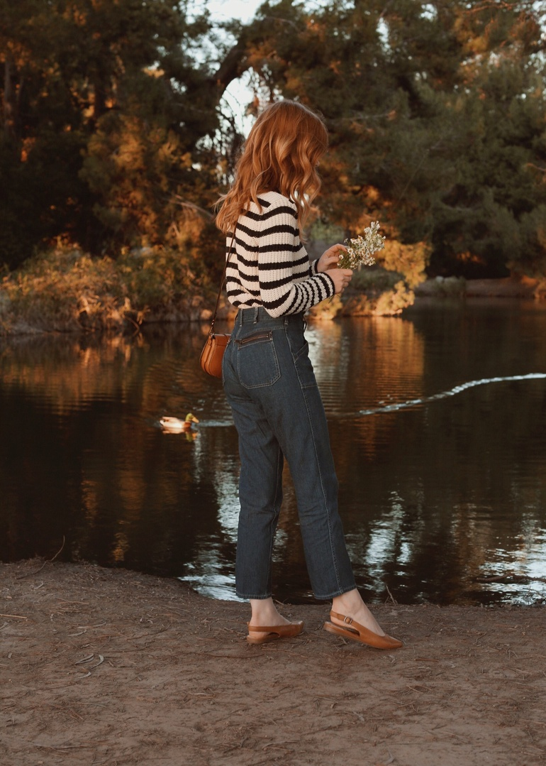 Head to toe Polo Ralph Lauren at the lake. #ad #PoloRalphLauren #polodenim