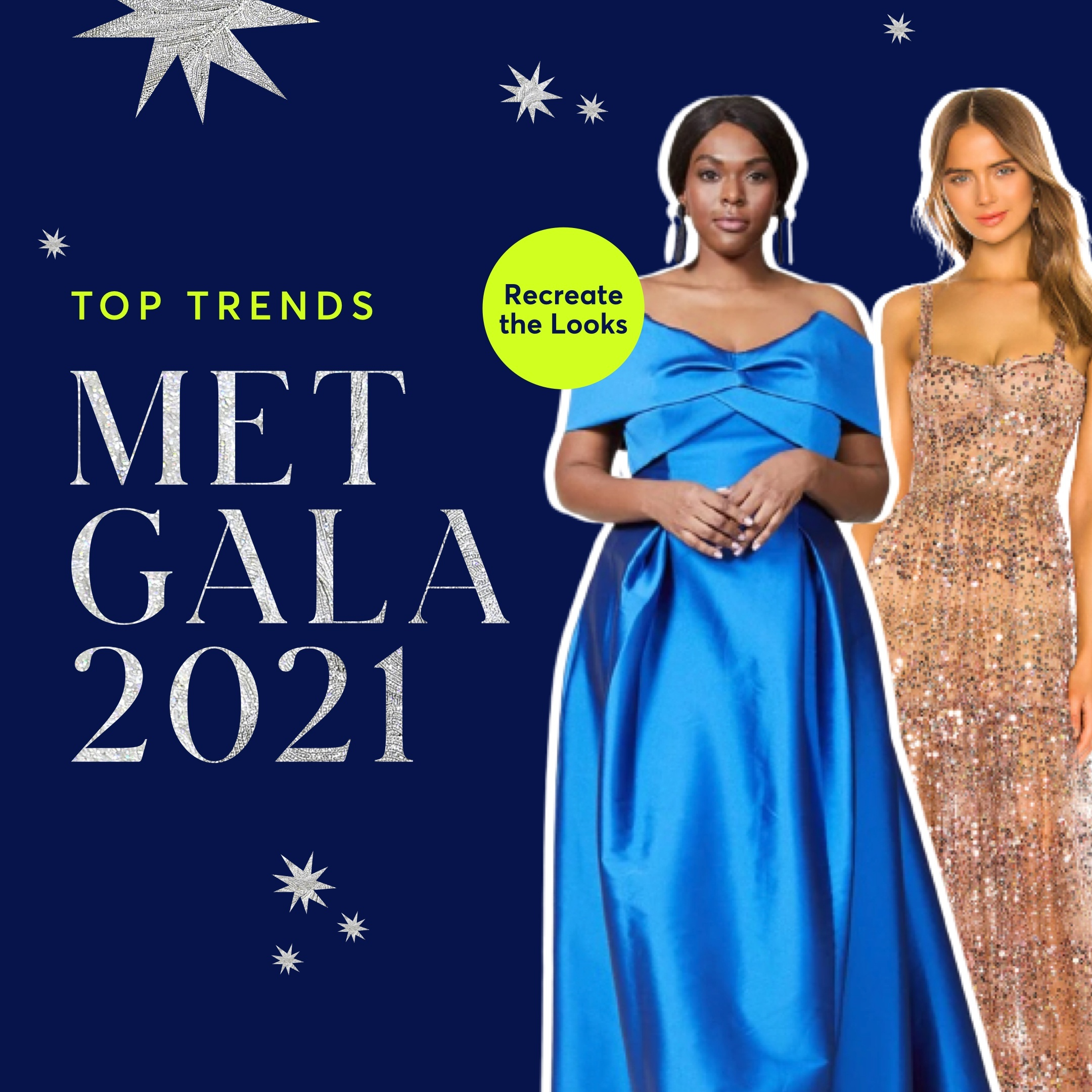 Our Editor's Favorite Trends From 2021's Met Gala