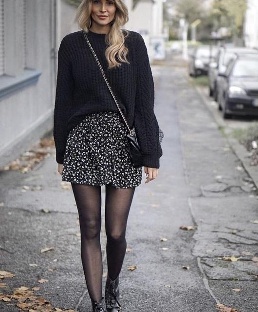 day #TrendToWatch #Ootd #boots #blackboots #Skirt #purse #blackpurse #saintlaurent #saintlaurentpurse #blacksaintlaurentpurse