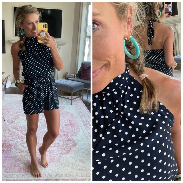 This Amazon romper checks every box!  I can't believe it's under $30!