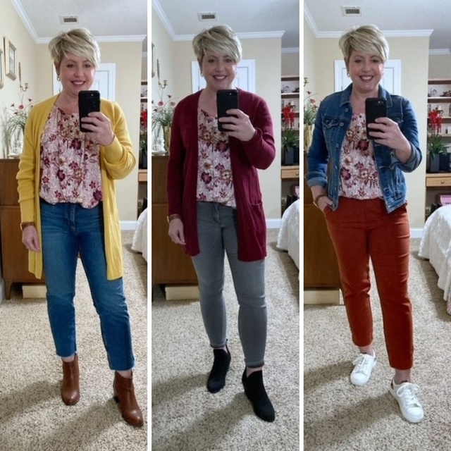 One fall top/ Wear Now and Later #ShopStyle #MyShopStyle #fallstyle #fashionover40