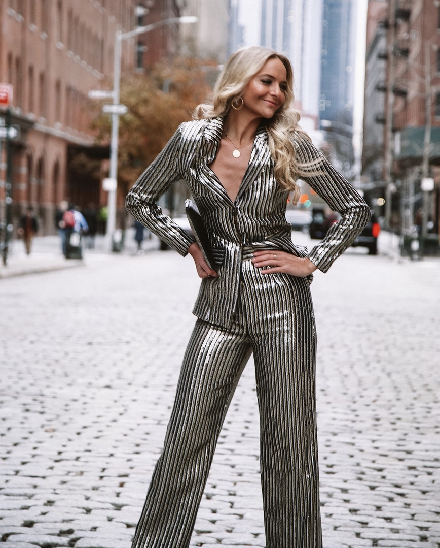 The Holiday Edit: Sequin Suit