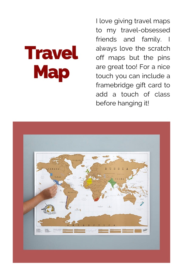Look by Kristi Hemric featuring Maps International Scratch The World Travel Map – Scratch Off World Map Poster – Most Detailed Cartography - 22 x 17
