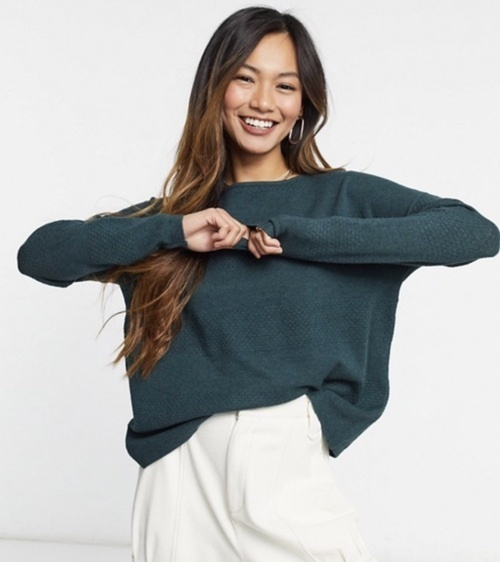 erfashion #cuteoutfitideas #budgetfriendly #oversizedsweaters #springoutfitideas #sweateroutfits #howtostyle #crewnecksweater