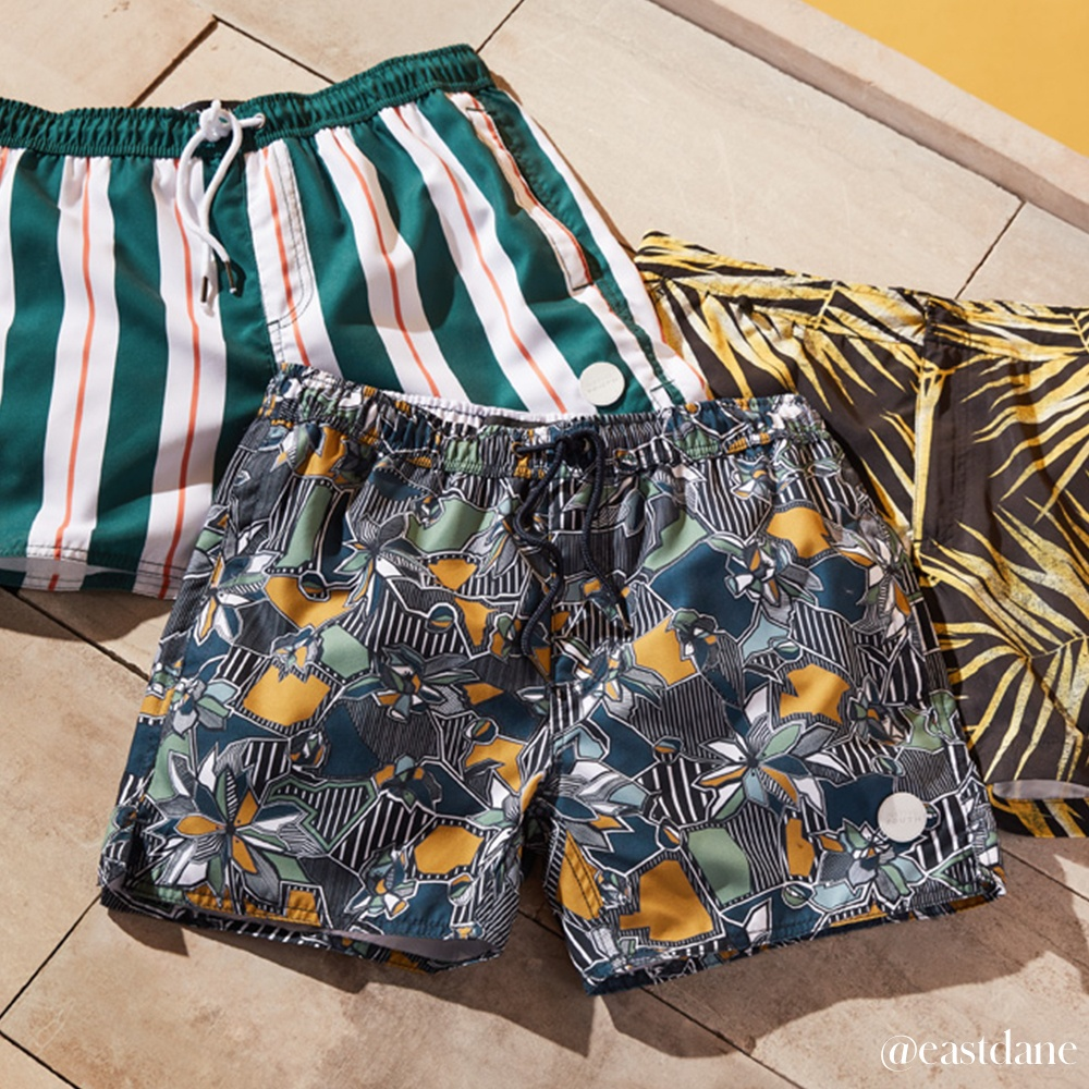 Make a Splash This Summer in These Swim Trunks